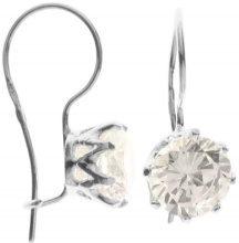 InCollections - Orecchini pendenti da donna con zirconia cubica, argento sterling 925, cod. 0010261637340