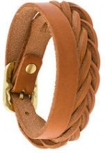 - Il Bisonte - woven wrap bracelet - women - pelle - Taglia Unica - color marrone