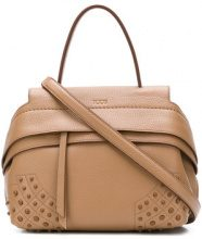 Tod's - Wave medium tote - women - Leather - OS - Color carne & neutri