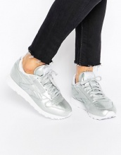 Reebok - Spirit Face - Scarpe da ginnastica classiche in pelle argento