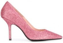 - Anna F. - glitter stiletto pumps - women - pelle/fibra sintetica - 37, 38, 40, 38.5, 39 - di colore rosa