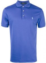 Polo Ralph Lauren - short sleeve polo shirt - men - Cotone - S - PINK & PURPLE