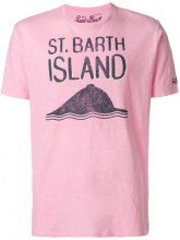 Mc2 Saint Barth - T-shirt con stampa sul davanti - men - Cotone - S - PINK & PURPLE