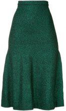 - GINGER & SMART - Allude Metallic Knit Skirt - women - fibra sintetica/fibra metallica/fibra sinteticafibra sintetica - XS , S - effetto metallizzato