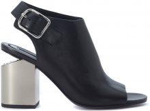 Sandalo con tacco Alexander Wang Nadia in pelle nera