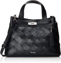 Pollini Bag - Borsa Donna, Nero, 16x27x39 cm (B x H T)