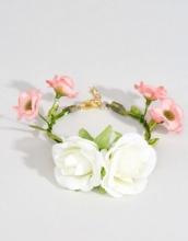 ASOS Wedding - Bracciale da cerimonia con fiori