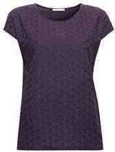 edc by Esprit 048cc1k084, T-Shirt Donna, Blu (Navy 2 401), Small