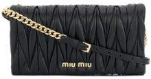 Miu Miu - Borsa Clutch - women - Calf Leather - One Size - Nero