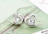 Lily Jewelry-Gioielli a forma di cuore con cristalli Swarovski, da donna