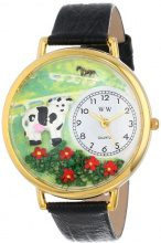 Whimsical Watches Cow Bla