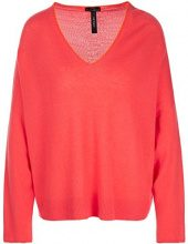 Marc Cain Collections Kc 41.14 M01, Maglione Donna, Mehrfarbig (Coral 221), 46