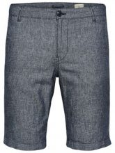 SELECTED Linen - Shorts Men Blue