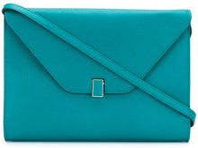 Valextra - Borsa a tracolla 'Pochette' - women - Leather - OS - GREEN