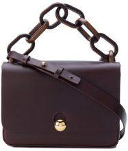 Sophie Hulme - Spring shoulder bag - women - Leather - OS - Rosa & viola