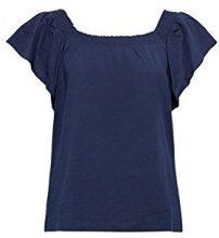 ESPRIT 068ee1k011, T-Shirt Donna, Blu (Navy 400), Medium
