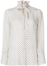Valentino - polka dot blouse - women - Silk - 40, 42, 44 - Bianco