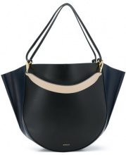 Wandler - Mia tote bag - women - Calf Leather - One Size - Nero