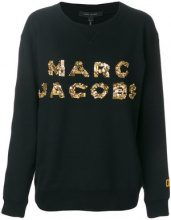Marc Jacobs - Felpa con logo - women - Cotone - S - Nero