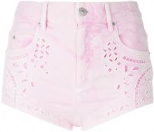 Isabel Marant - Shorts in denim - women - Cotone/Spandex/Elastane - 36, 38, 34 - PINK & PURPLE