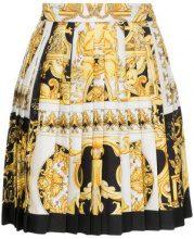 Versace - silk barocco SS '92 print skirt - women - Silk - 40, 38, 44, 42, 46 - WHITE