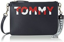 Tommy Hilfiger Iconic Crossover Cb - Borse a tracolla Donna, Blu (Corporate Mix), 3.5x14x24.5 cm (B x H T)
