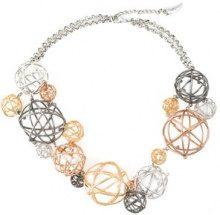 Eshvi - Collana 'Astro - women - Rhodium/Gold Plated Brass - OS - Metallizzato