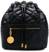 Versace - quilted backpack - women - Calf Leather - OS - Nero
