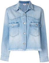- Levi's - long sleeve Addison jacket - women - cotone - L, XS , S, M - di colore blu