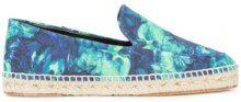 Lanvin - flat sole espadrilles - women - Raffia - 36, 37, 38, 39 - Blu