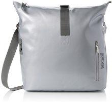 Bree Punch 715, Shiny Silver, Messenger S18 - Borse a spalla Unisex Adulto, Silber (Silver), 14x30x40 cm (B x H T)