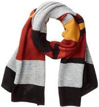 s.Oliver 39710914094, Sciarpa Donna, Rosso (Red Stripes 38G1), Taglia unica