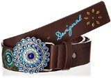 Desigual - Cint_Belt Ethnic, Cintura da donna, Multicolore(multicoloured (navy)), L