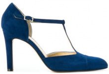 - Antonio Barbato - Pumps con cinturino a T - women - Suede/Leather - 37.5, 38, 39 - Blu