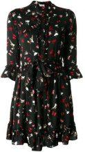 - Liu Jo - Leniana dancer print dress - women - fibra sintetica - 46, 42 - di colore nero