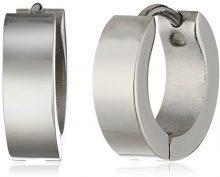 ZEEme 385010011 - Orecchini unisex, acciaio inossidabile