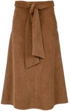 Andrea Marques - belted corduroy skirt - women - Polyester/Polyamide - 36, 38, 40, 42 - unavailable