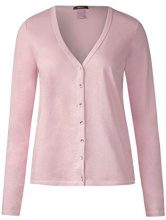 Cecil 312200, Cardigan Donna, Rosa (Soft Blossom 11216), Large