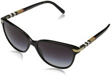 Burberry 0BE4216 30018G, Occhiali da Sole Donna, Nero (Black/Gradient), 57