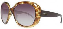 Polaroid Occhiali da Sole PLD 1008/S LA, Donna, Lenti: Brown Shaded Polarized, Montatura: Blnhv Mtllbw (PPZ), 58