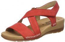 Gabor Shoes Jollys, Ciabatte Donna, Rosso (Kiss), 39 EU