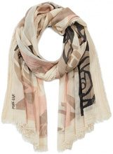 PIECES Pcilise Long Scarf, Sciarpa Donna, Multicolore (Whitecap Gray), Taglia Unica