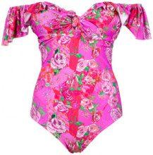 Amir Slama - off the shoulder swimsuit - women - Polyamide/Spandex/Elastane - P, M, G, GG - unavailable
