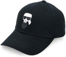 Karl Lagerfeld - Cappello da baseball 'Karl Ikonik' - women - Cotone - OS - Nero