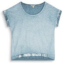 ESPRIT 077ee1k029, T-Shirt Donna, Blu (Petrol Blue 450), Small