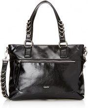 Gaudì Shopping Linea Adele, Borsa a Mano Donna, Nero (Black), 35x27x14 cm (W x H x L)