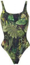 Lygia & Nanny - Hapuna printed swimsuit - women - Polyamide/Spandex/Elastane - 38, 40, 42, 46 - Verde