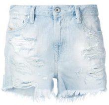 Diesel - Shorts in denim - women - Cotone/Leather - 27, 25, 26 - Blu