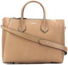 Michael Kors Collection - satchel tote - women - Calf Leather - OS - NUDE & NEUTRALS
