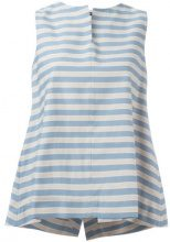 Jil Sander Navy - sleeveless A-line blouse - women - Cotone/Polyester - 36, 38 - BLUE